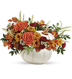 Teleflora's Enchanted Harvest Bouquet in Los Angeles CA, RTI Tech Lab