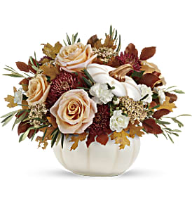 Teleflora's Harvest Charm Bouquet in Los Angeles CA, RTI Tech Lab