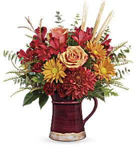 Teleflora's Fields Of Fall Bouquet in Los Angeles CA, RTI Tech Lab