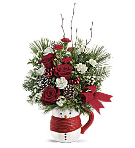 Send a Hug Festive Friend Bouquet by Teleflora in Los Angeles CA, RTI Tech Lab