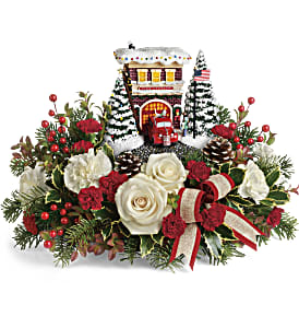 Thomas Kinkade's Hero's Holiday Bouquet in Los Angeles CA, RTI Tech Lab