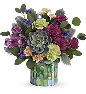 Teleflora's Marvelous Mosaic Bouquet in Los Angeles CA, RTI Tech Lab