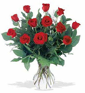 One Dozen Roses in Augusta GA, Ladybug's Flowers & Gifts Inc