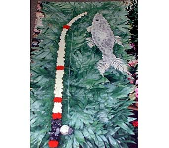 Stein Fishing Pole with Fish - Special Design in Burlington NJ, Stein Your Florist