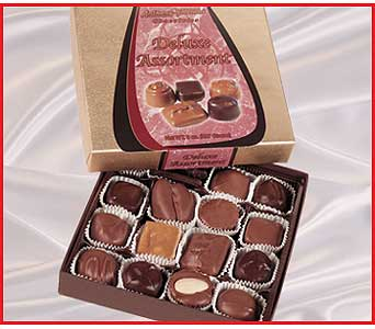 1/2 lb. Assorted Chocolates in Columbus OH, OSUFLOWERS .COM