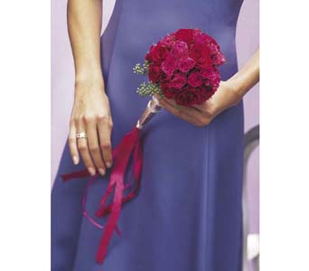 Bridesmaid Bouquet in Big Rapids MI, Patterson's Flowers, Inc.