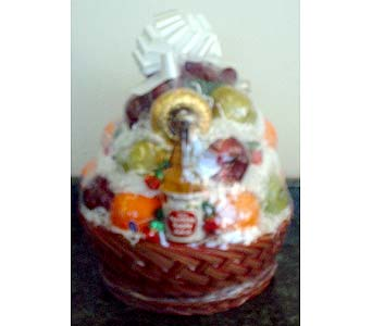 Stein Deluxe Fruit Basket in Burlington NJ, Stein Your Florist