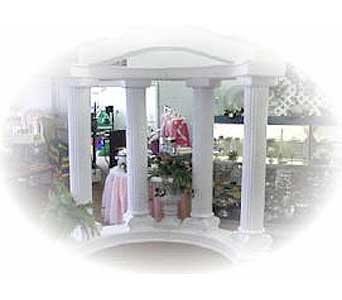 Custom Colonade Backdrops in Grand Island NE, Roses For You!
