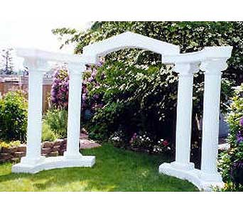 Colonade with Bridge in Grand Island NE, Roses For You!