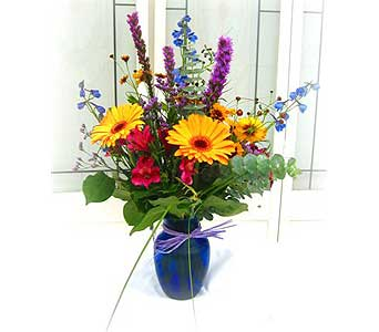 Colorful Summer Bouquet small in Lake Forest CA, Cheers Floral Creations