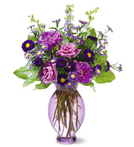 Teleflora's Lavender Inspiration Bouquet in Friendswood TX, Lary's Florist & Designs LLC