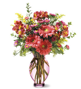 Teleflora's Pink Inspiration Bouquet in Evansville IN, Cottage Florist & Gifts