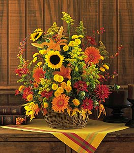 Majestic Fall in Stamford CT, NOBU Florist & Events