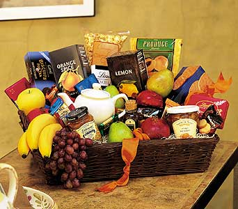 Grande Gourmet Fruit Basket in Somerset NJ, Flower Station
