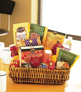 Healthy Gourmet Basket in Somerset NJ, Flower Station