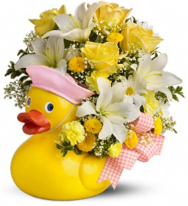 Teleflora's Just Ducky Bouquet - Girl in San Clemente CA, Beach City Florist