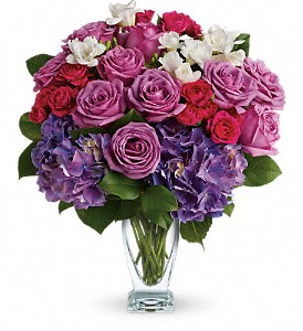 Teleflora's Rhapsody in Purple in Bedford TX, Mid Cities Florist