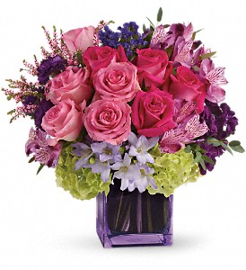 Exquisite Beauty by Teleflora in Kokomo IN, Jefferson House Floral, Inc