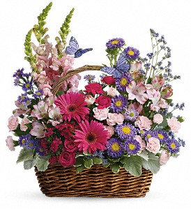 Country Basket Blooms in Manalapan NJ, Rosie Posies