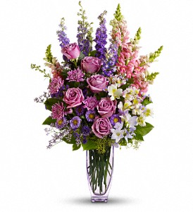Steal The Show by Teleflora with Roses in Norwalk CT, Bruce's Flowers & Greenhouses