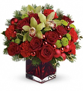 <font color=red size=3><b>$20 Off</b></font><br>Teleflora's Merry & Bright in Pompano Beach&nbsp;FL, Pompano Flowers 'N Things