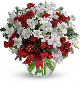 Let It Snow in Grand Prairie TX, Deb's Flowers, Baskets & Stuff