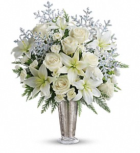 Teleflora's Winter Glow in Astoria NY, Peter Cooper Florist