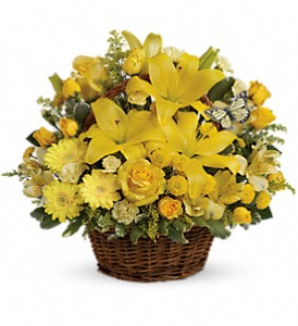 Basket Full of Wishes in Houston TX, G Johnsons Floral Images