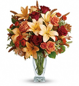 Teleflora's Fall Fantasia in San Clemente CA, Beach City Florist