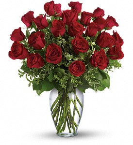 Always on My Mind - Long Stemmed Red Roses in Stephenville TX, Scott's Flowers On The Square