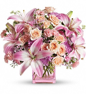 Teleflora's Possibly Pink in New York NY, Fellan Florists Floral Galleria