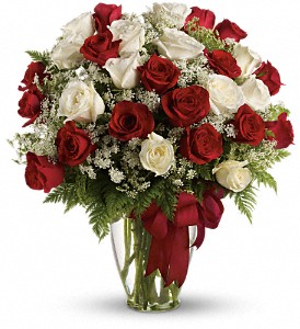 Love's Divine Bouquet - Long Stemmed Roses in Somerset MA, Pomfret Florists