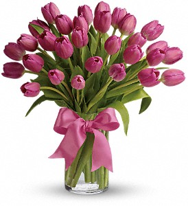Precious Pink Tulips in Adrian MI, Flowers & Such, Inc.