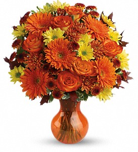 Teleflora's Forever Fall in Evansville IN, Cottage Florist & Gifts