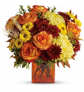 Teleflora's Autumn Expression in Linden NJ, House Of Flowers