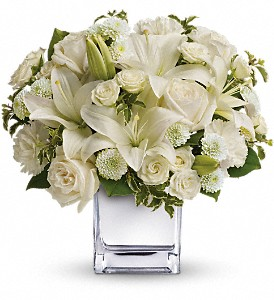 Teleflora's Peace & Joy Bouquet in Austin TX, Ali Bleu Flowers