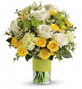 Your Sweet Smile by Teleflora in Fredericton NB, Simon Says Roses