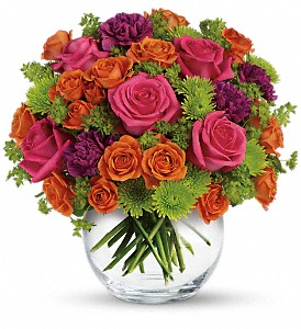 Teleflora's Smile for Me in Cocoa FL, A Basket Of Love Florist