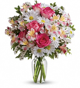 What a Treat Bouquet with Roses in Needham MA, Needham Florist