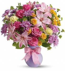 Teleflora's Perfectly Pastel in Christiansburg VA, Gates Flowers & Gifts