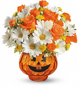 Happy Halloween by Teleflora in Renton WA, Cugini Florists