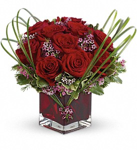 Teleflora's Sweet Thoughts Bouquet with Red Roses in San Francisco CA, A Mystic Garden
