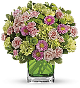 Make Her Day by Teleflora in Columbus IN, Fisher's Flower Basket