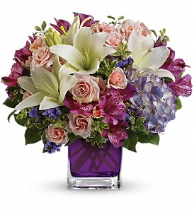 Teleflora's Garden Romance in Dayville CT, The Sunshine Shop, Inc.