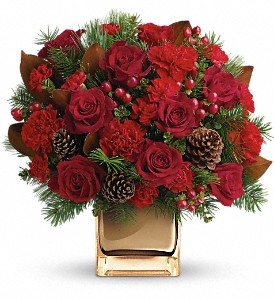 Warm Tidings Bouquet by Teleflora in Rochester NY, Fabulous Flowers and Gifts