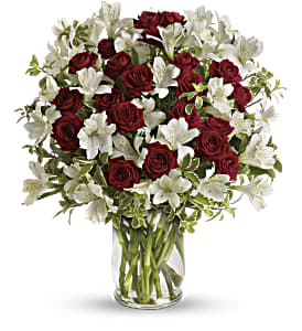 Endless Romance Bouquet in Worcester MA, Herbert Berg Florist, Inc.