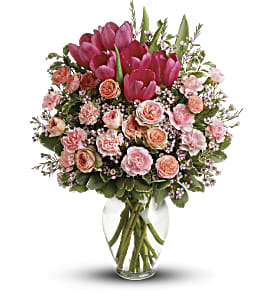 Full Of Love Bouquet in Zephyrhills FL, Talk of The Town Florist