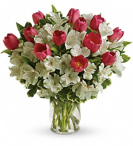 Spring Romance Bouquet in Tuckahoe NJ, Enchanting Florist & Gift Shop