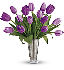 Tantalizing Tulips Bouquet by Teleflora in Los Angeles CA, RTI Tech Lab