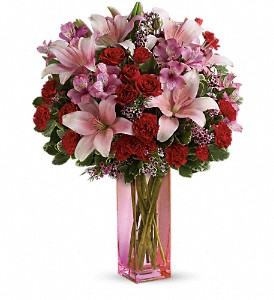Teleflora's Hold Me Close Bouquet in Tampa FL, Moates Florist